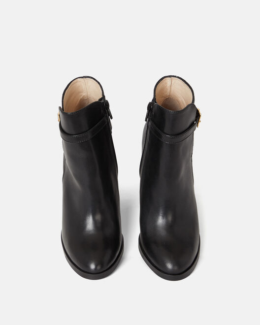 ANKLE BOOTS - SAUNIA, BLACK