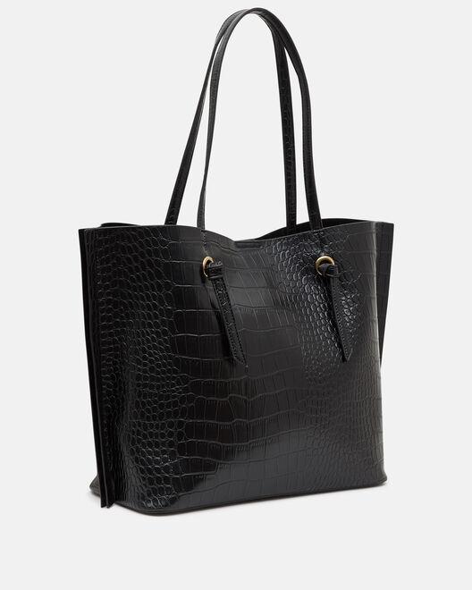 LARGE SIZE BAG - NATHAELLE, BLACK