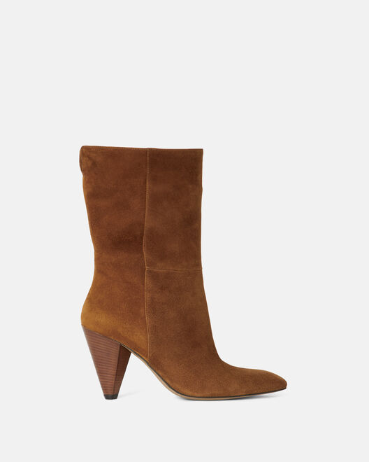 ANKLE BOOTS - PAOLINA, TOBACCO