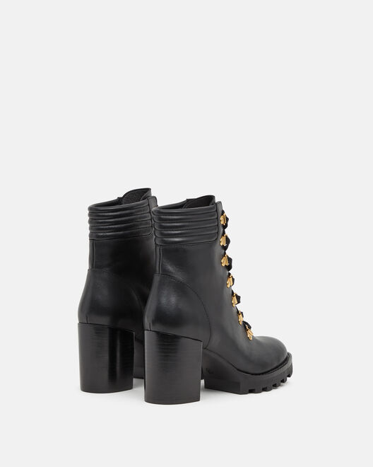ANKLE BOOTS - THANNA, BLACK
