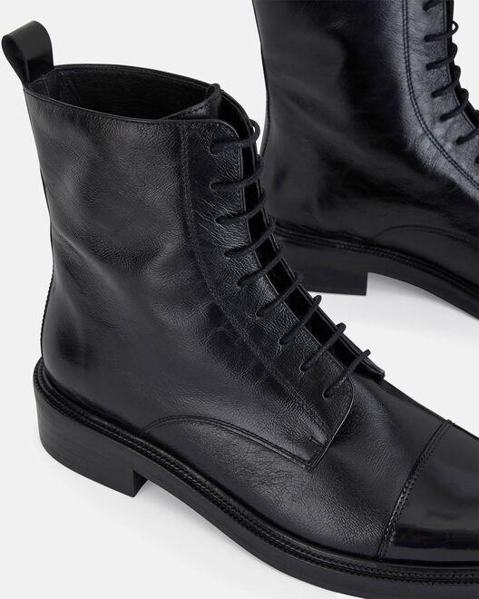 ANKLE BOOT - SEFA, BLACK