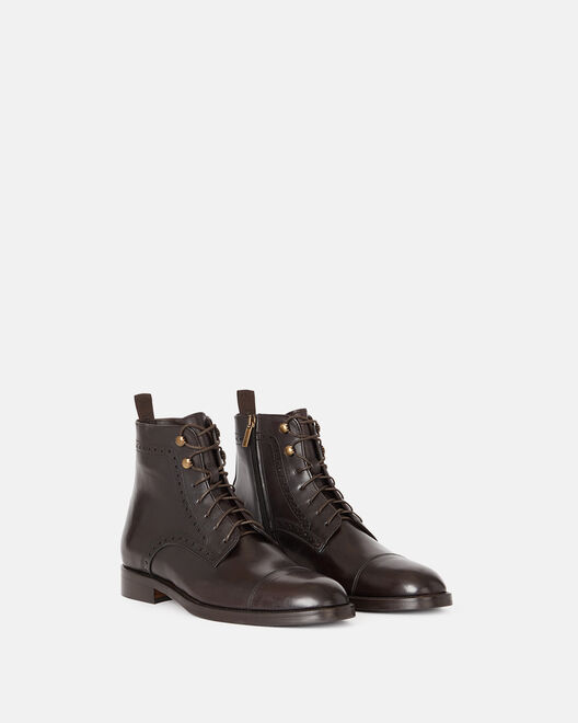 ANKLE BOOTS - EMINE, BROWN