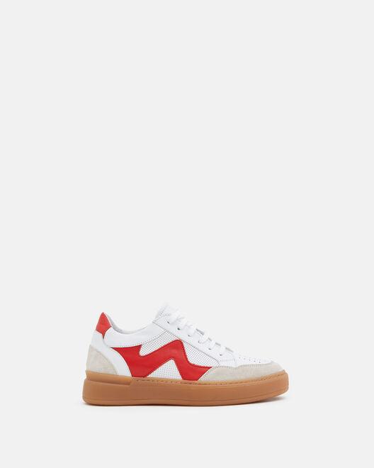 SNEAKER - ALISSIA, WHITE RED