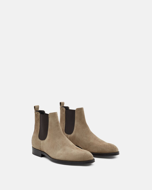 ANKLE BOOTS - IOURI, TAUPE